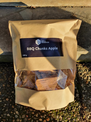 Grill Fanatics Chunks - lämminsavupalikat omenapuu (Apple) 1 kg