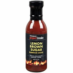 Steven Raichlen Project Smoke: Lemon Brown Sugar Barbecue Sauce 15oz (432g)