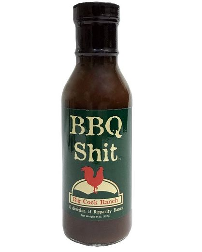 BBQ Shit, 14 oz, Big Cock Ranch (414.029414 ml)